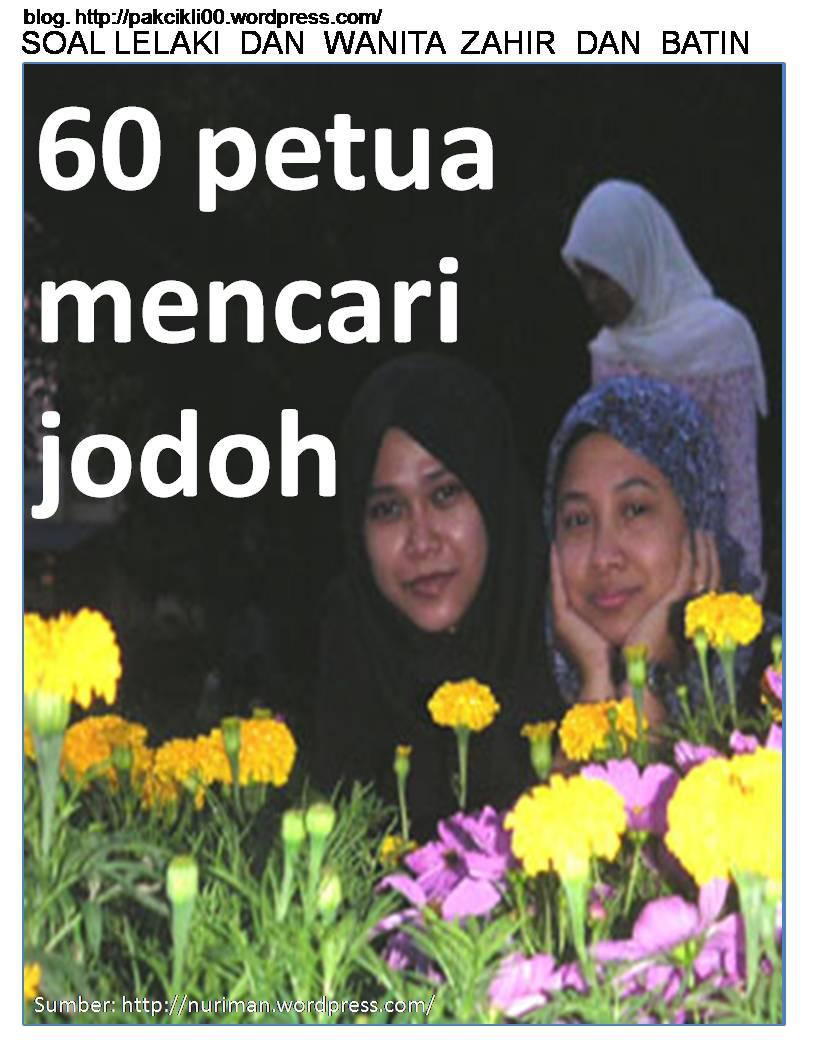 60 petua mencari jodoh
